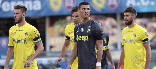Cristiano Ronaldo debuta con victoria en la Juventus pero se queda sin anotar