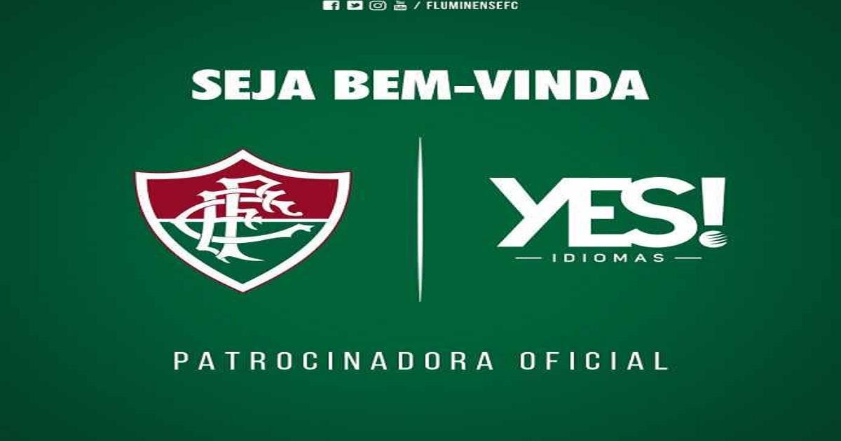 9eccaf5647db6 Fluminense acerta acordo de patrocínio com Grupo de ensino Yes até o fim de  2018