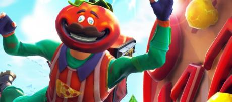 New rift at Tomato Town could mean the return of Tomato Head. [image source: LJ Studios - Fornite/ YouTube Screenshot]