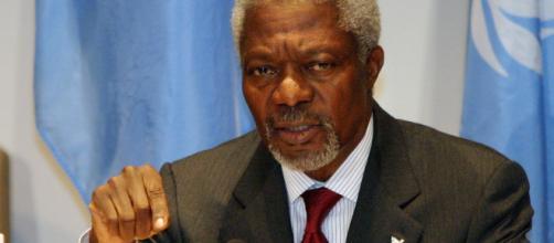 Fallece Kofi Annan, ex secretario de la ONU, a los 80 Años