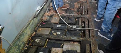 Se encuentra 579 kilos de droga en el autobús en el cual murieron 24 personas