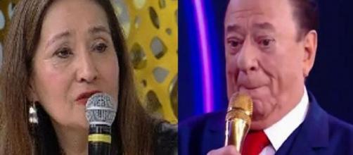 Sonia Abrão e Raul Gil (Foto: Reprodução)