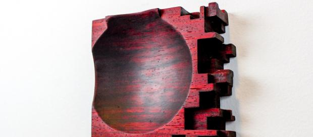 Nick Fillari creates beautiful abstract sculptures out of wood. / Image via Nick Fillari, used with permission.