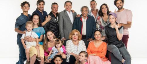 Foto familiar de las generaciones Córcega