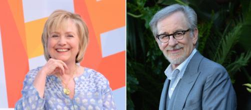 Hillary Clinton y Steven Spielberg trabajarán juntos como productores en una serie