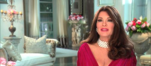 Lisa Vanderpump is seen on an episode of 'The Real Housewives of Beverly Hills.' [Image Source: Bravo - YouTube]