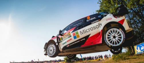 Ott Tanak resta saldamente al comando del Deutschland Rally 2018