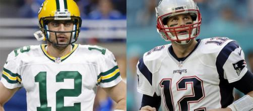 Tom Brady and Aaron Rodgers are the favorites to win the 2018 NFL MVP. - [SI.com / YouTube screencap]