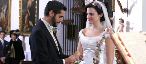 Una Vita: Maria Luisa e Victor si sposano