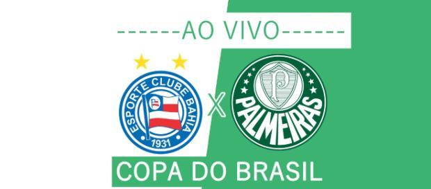Copa do Brasil ao vivo: Bahia x Palmeiras