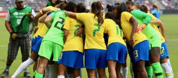 Seleção brasileira quer o título do Torneio das Nações