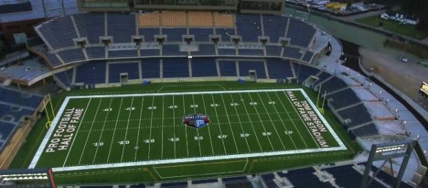 The NFL 2018 preseason begins tonight. [Image via Aerial Agents/YouTube]