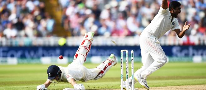 Day 2 live: England scores 285/9 in first Test against India at Birmingham