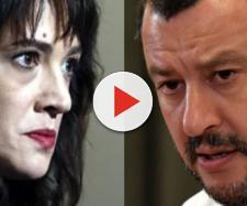 Il vicepremier Matteo Salvini lancia una stoccata in salsa social all'attrice Asia Argento, dopo lo scoop sul presunto caso di violenza sessuale