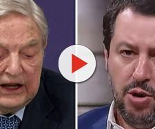 Salvini contro Soros e i suoi finanziamenti