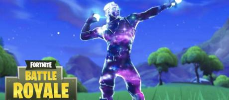 Exclusive Galaxy skin might be available to all players after promotion ends. [image source: HYPEX/YouTube]