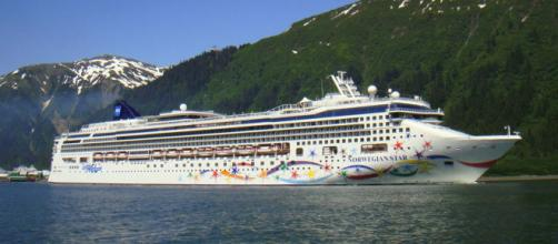 A woman who fell off the Norwegian Star was rescued after 10 hours in the water. [Image Tom Mascardo/Flickr]