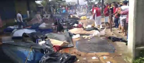 BRASIL/ Atacan campamentos de inmigrantes venezolanos