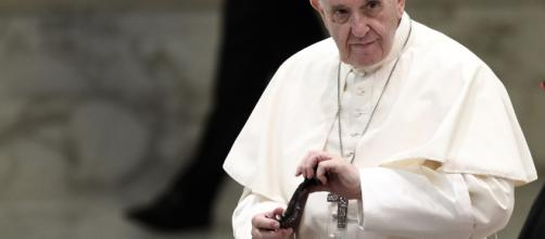 El papa Francisco en la catedral de Dublìn