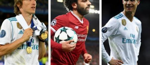 Les trois nominés pour le prix meilleurs joueurs UEFA