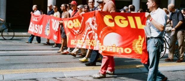 Scioperi e manifestazioni Enel contro il lavoro precario a settembre e ottobre 2018.