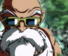 Dragon Ball Super nos muestra el migatte no Gokui del maestro Roshi en el torne del poder