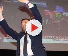 Matteo Renzi ha iniziato le riprese del film su Firenze con Lucio Presta.