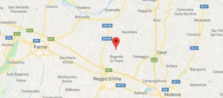 L'epicentro del terremoto è stato registrato a tre chilometri da Bagnoli in Piano