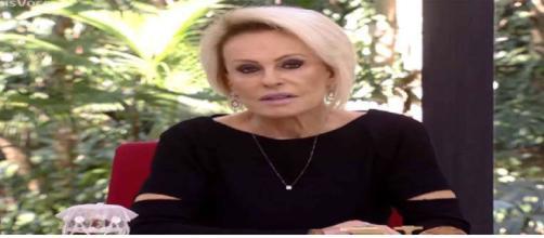 Apresentadora Ana Maria desabafa no programa ao falar sobre o assassinato de seu funcionário