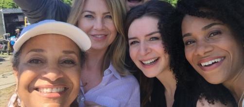 Il cast di Grey's Anatomy (Foto: Instagram)