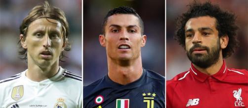 Cristiano, Modric y Salah, candidatos a Mejor Jugador del Año de la UEFA