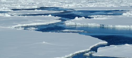 Se rompe el hielo del Ártico por el calentamiento global