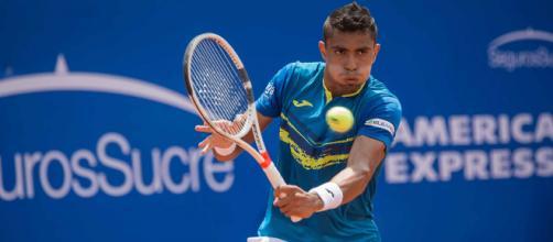 Thiago Monteiro é um dos quatro brasileiros que entram em quadra nesta quarta-feira em Nova Iorque - Divulgação - ATP