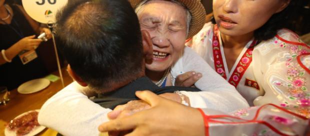 Familias separadas por la guerra de Corea volvieron a reunirse