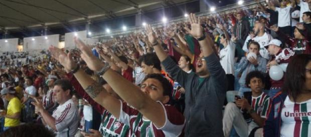 Fluminense recebe o Corinthians no Maracanã pelo Brasileirão (Foto: Mailson Santana)