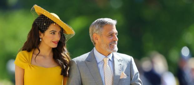 Los Clooney pasan fin de semana con los duques de Sussex en Italia