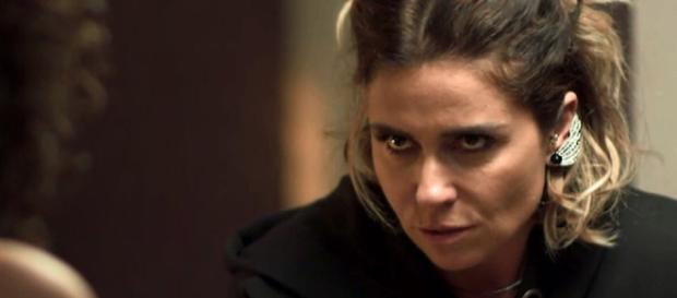 Luzia na novela 'Segundo Sol'.
