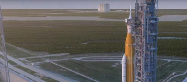 NASA's Orion Spacecraft Ready for Launch in 2019. [Image courtesy – Close Encounters UFO, YouTube video]