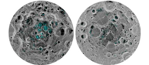 Confirman la presencia de hielo en la superficie de la Luna - diariolibre.com