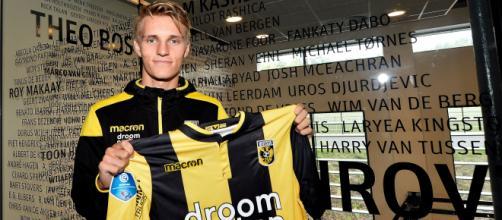 El joven jugador nacido en Noruega llega a la liga de Holanda en opción de préstamo para ganar experiencia y volver al Real Madrid