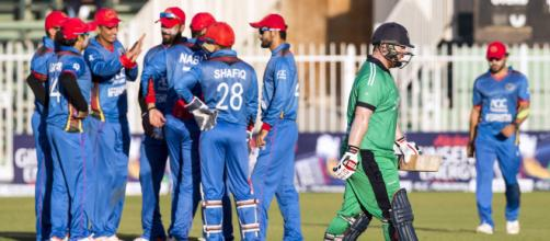 Live cricket score - Afghanistan vs Ireland 2nd T20 (Image via ICC/Twitter)