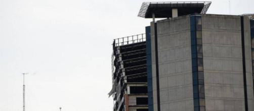 Torre de David en Caracas colapsa luego del sismo