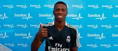 Vinícius Júnior, jogador brasileiro contratado pelo Real Madrid