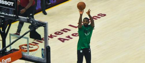 Will Kyrie Irving leave the Boston Celtics after the 2018-19 NBA season? / Photo via Erik Drost, Flickr CC