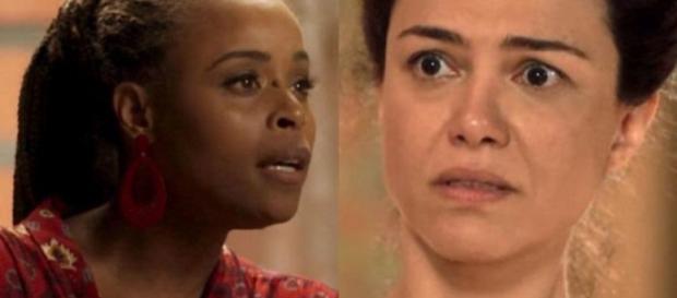 Doralice e Selma em 'Segundo Sol'