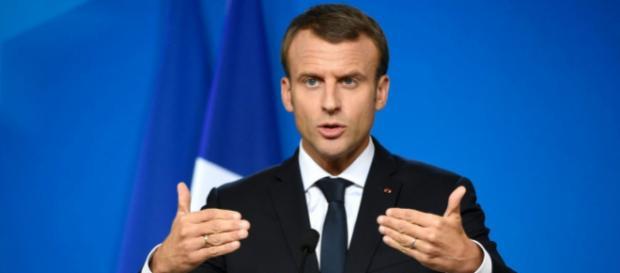 Emmanuel Macron fait sa rentrée