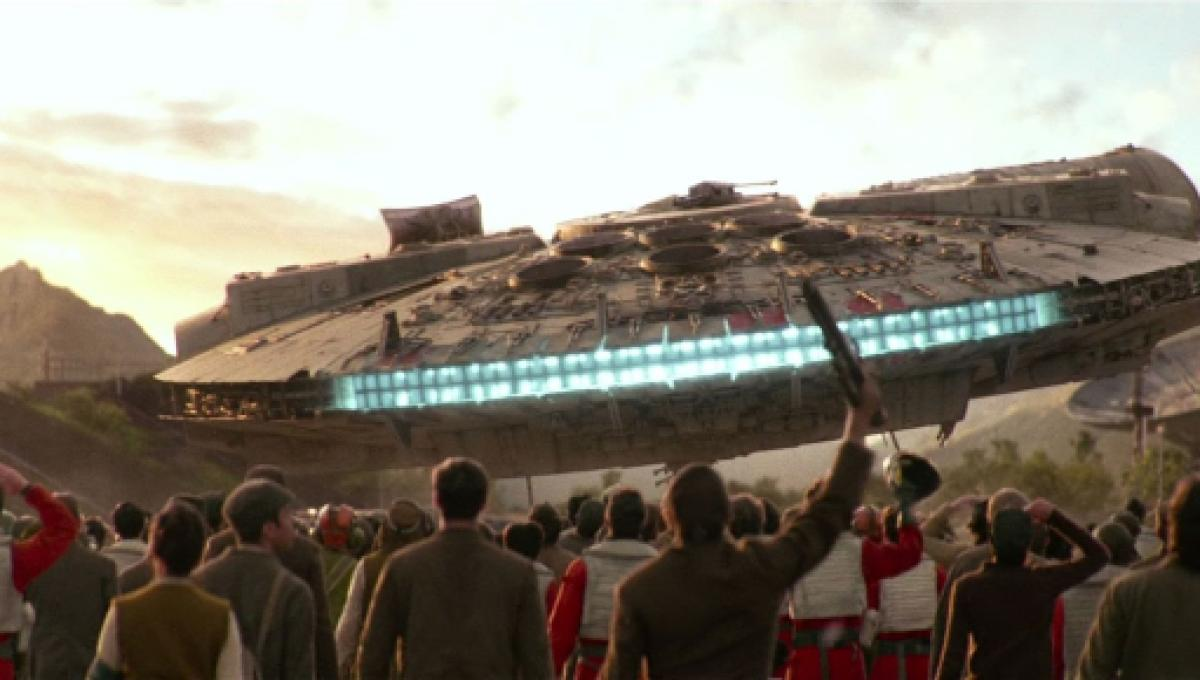 Star Wars 9 Rumors: Leaked set photos show Millennium Falcon
