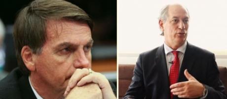 A disputa entre os candidatos à presidência da República, Ciro Gomes e Jair Bolsonaro, promete esquentar as eleições de 2018