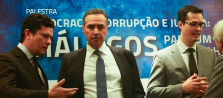 Sérgio Moro e ministro Barroso estarão palestrando juntos, em Salvador