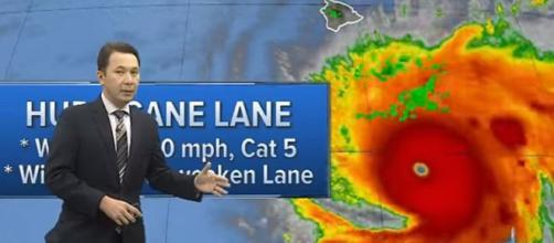 Alerta máxima en Hawái por el huracán Lane, que avanza con vientos ... - argentina23.com